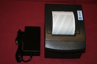 Bixolon 1634-0080-8801 Thermal Receipt Printer Wserial Usb Power Adapter
