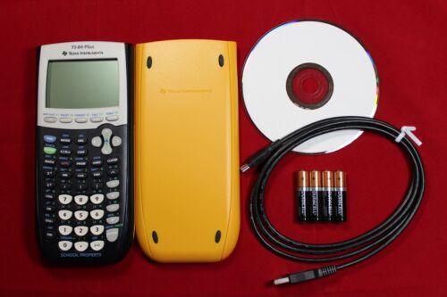 New TI-84 Plus Graphing Calculator Texas Instruments TI84 +