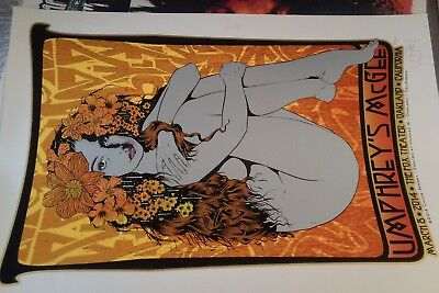 Umphrey's McGee FOX Oakland CA Poster by Chuck Sperry Art Print Signed Ed of 325 (Oakland, Ca-poster)