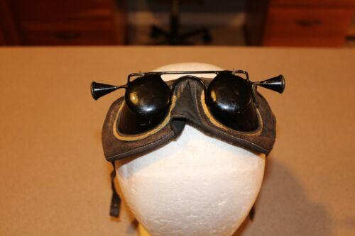 Odd Fellows Hoodwink Flip Up Goggles Initiation Steampunk Vintage Blinders