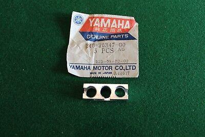 <em>YAMAHA</em> TD3 TR3 TZ250 TZ 350 FRONT BRAKE CABLES BALANCER HOUSING BLOCK