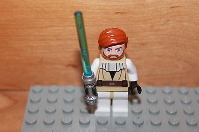 Lego Star Wars - Jedi Ritter Obi-Wan Kenobi mit Lichtschwert aus Set 9525