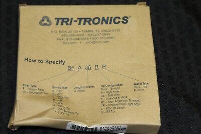 Tri-tronics Sensor Fiber Optic Light Guide Cable F-a-36rs Nib