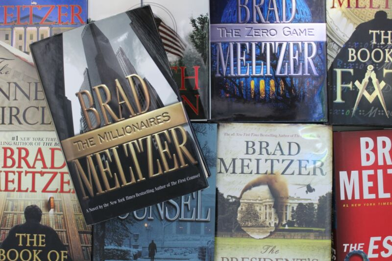 Lot of 5 Brad Meltzer Thriller Hardcover Books MIX