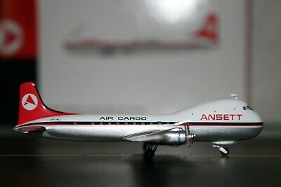 JC Wings 1:400 Ansett-ANA Air Cargo ATL-98 Carvair VH-INJ XX4406 Model Plane