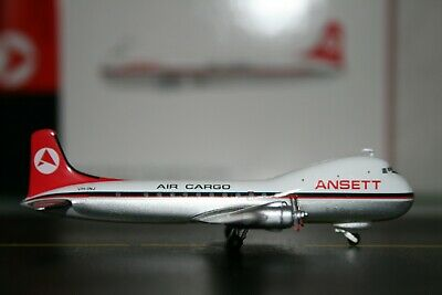 JC Wings 1:400 Ansett-ANA Air Cargo ATL-98 Carvair VH-INJ XX4406 Model Plane