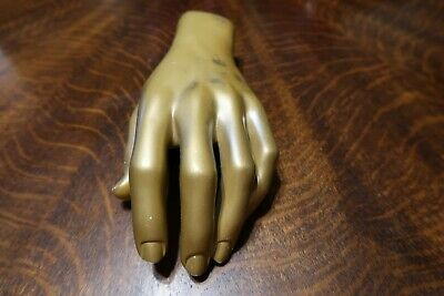 Vintage Mannequin Hand Left Nice Used Shape Free Shipping Inside The Us Male
