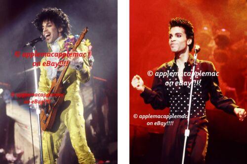 PRINCE - In Concert SET OF PHOTOS (B) photo UNPUBLISHED ORIGINAL