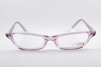 MIKLI par MIKLI Brille M0210-03 Strass Small Eye Frame Cat-Eye Rhinestones Gafas