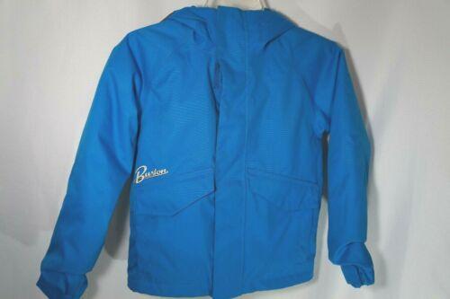 Burton Boys Youth SMALL 5 /6  Dryride Snowboard Ski Jacket BLUE