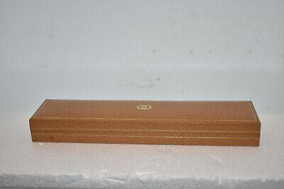 Vintage Gucci Watch Bracelet Necklace Empty Box Excellent Condition Golden Tan