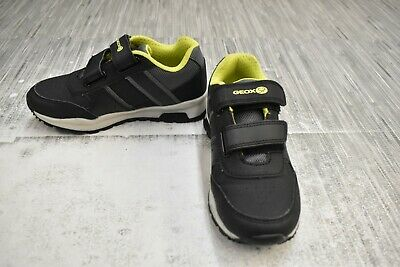 **Geox Coridan J925DA Casual Shoes, Little Boys Size 11 / EU 29, Black NEW