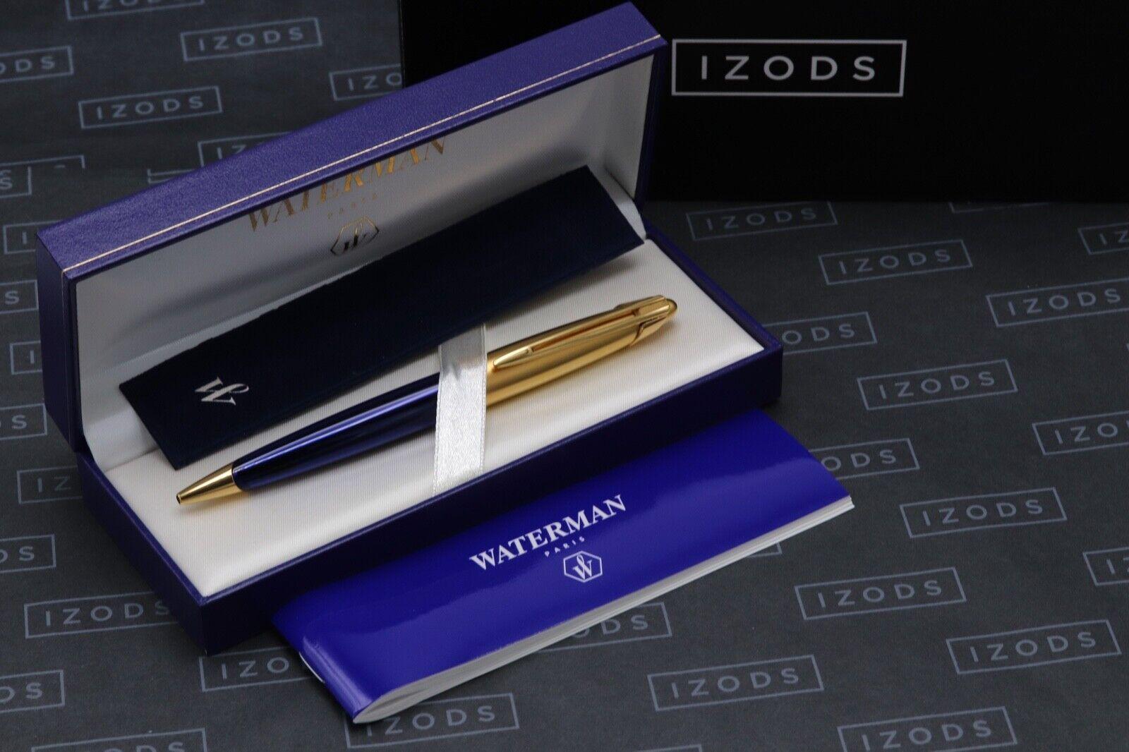 Waterman Edson Sapphire Blue Ballpoint Pen 6