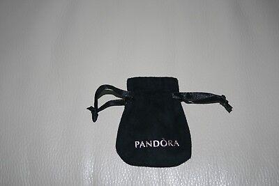 Pandora Black  Velvet Felt Jewellery Gift Pouch, Bag
