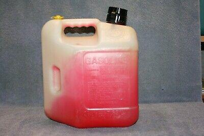 Blitz 2 Gallon Plastic Gas Fuel Can Pull Out Spout Pre-ban Usa
