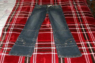 Custom Designer Jeans - NWT Women's Jrs BEBINA Low Rise Boot Cut Blue Jeans Stretch CUSTOM DESIGNER Sz 7