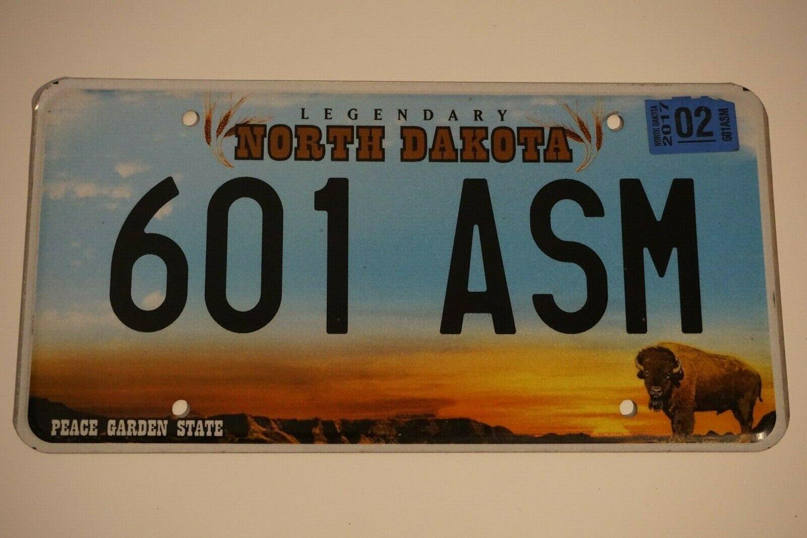 North Dakota Nummernschild Kennzeichen USA #2