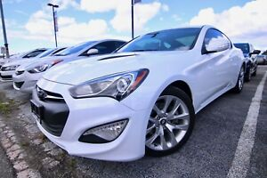 2015 Hyundai Genesis Coupe 3.8L Premium. Leather, Sunroof, Navig