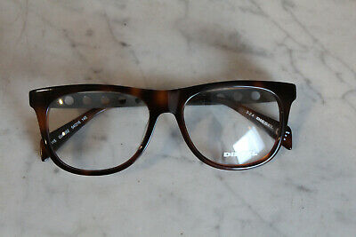 Brille Herren Diesel neu braun Rockabilly Buddy Holly