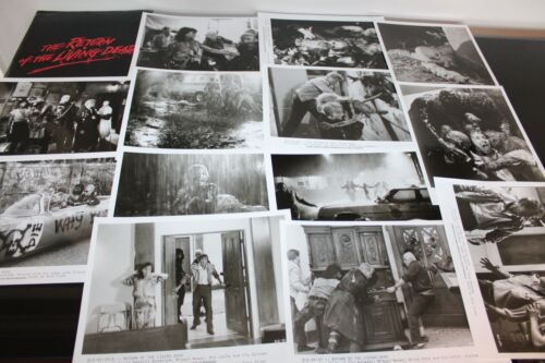 the return of the living DEAD CLU GULAGER MOVIE PRESS KIT 13 PHOTOS