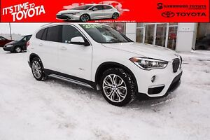 2018 BMW X1 xDrive28i, Heated Leather Seats, Stop & Go + Activ