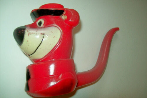 Vintage 1963 Yogi Bear Plastic Bubble Pipe by Transogram