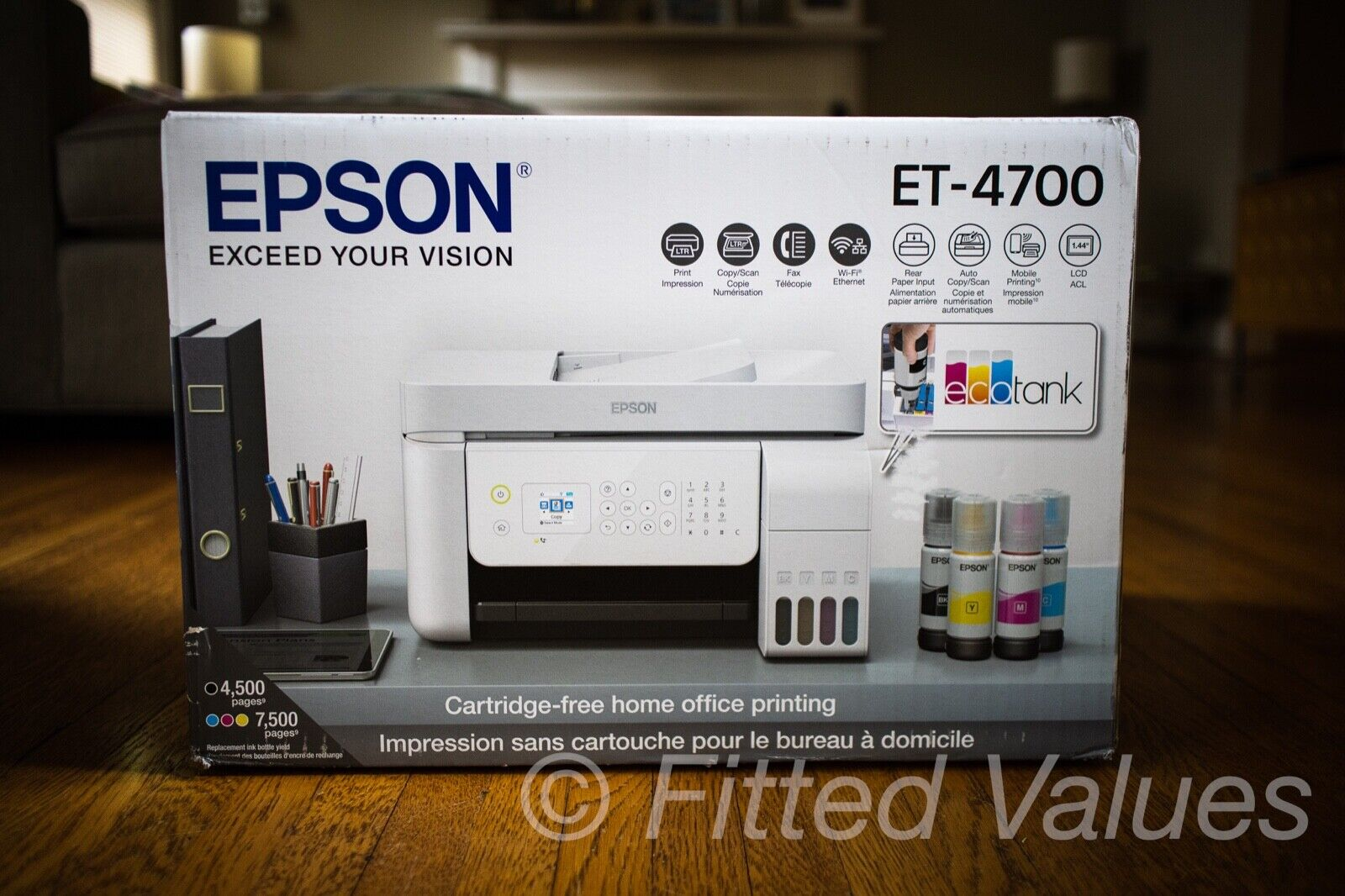 Epson EcoTank ET-4700 All-in-One Supertank Printer - NEW SHI