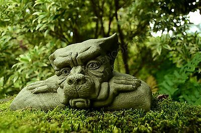 Ernie-Garden Ornament-Gargoyle-Sculpture Stone Statue-Home Patio-Decorative Gift