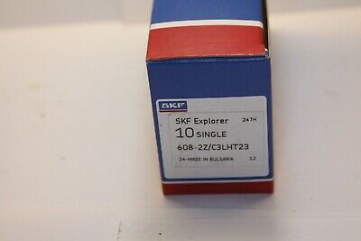 Skf Explorer 608-2zc3lht23 Bearings Box Of 10