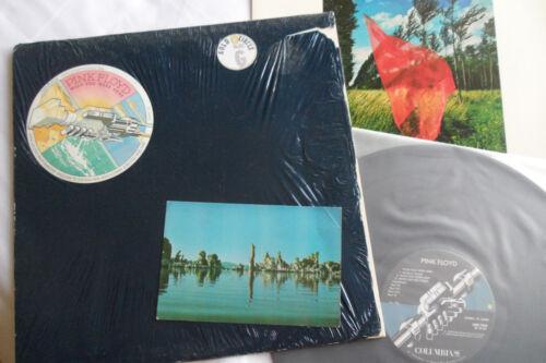 PINK FLOYD Original__1st Press__Wish You Were Here LP__SHRINK + POSTCARD__EX(-)