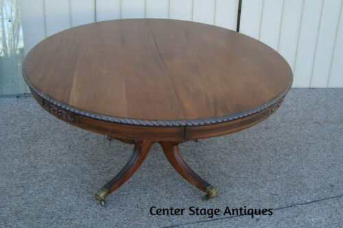 58713   Antique Mahogany Dining Table