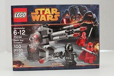 Retired LEGO Star Wars Death Star Troopers (75034) NIB Sealed