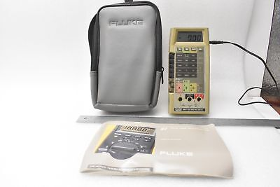 Fluke 8060a True Rms Multimeter With Padded Soft Carrying Case And Fluke A81-115