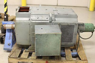 Used Reliance Electric Super RPM DC Motor 200 HP 1150/2000 RPM B506ATZ Frame