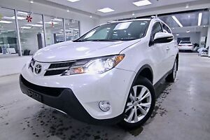 2013 Toyota RAV4  LIMITED, ONE OWNER, CLEAN CARPROOF, NON SMOKER