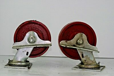 Hamilton Industrial Swivel Caster Locking Wheel 6 X 1 12 Heavy Duty