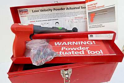 Powers Rawl R2200 Professional .22 Low Velocity Powder Actuated Fastening Kit
