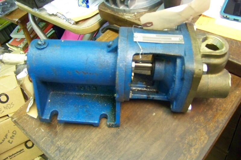 burks et5m turbine pump base mounted 3500 rpm