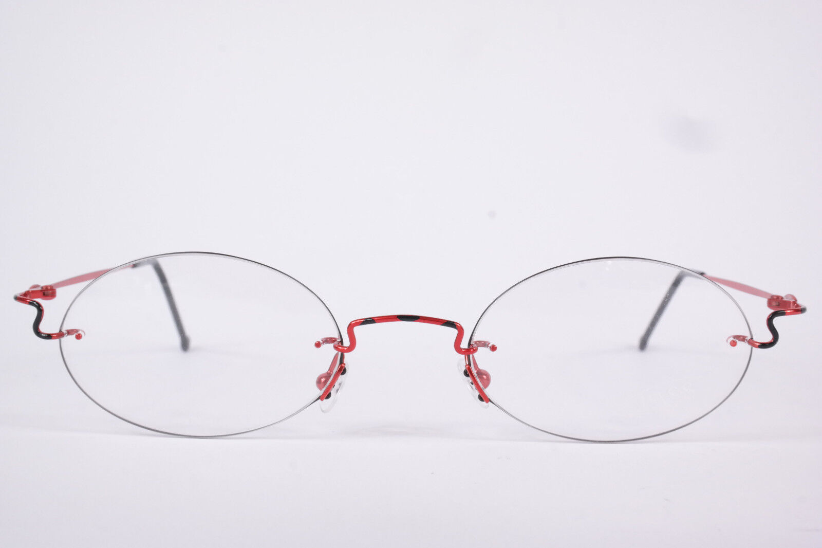 Pass P056 - 391 56[]18 140 Rot randlos Brillengestell Brille eyeglasses NEU