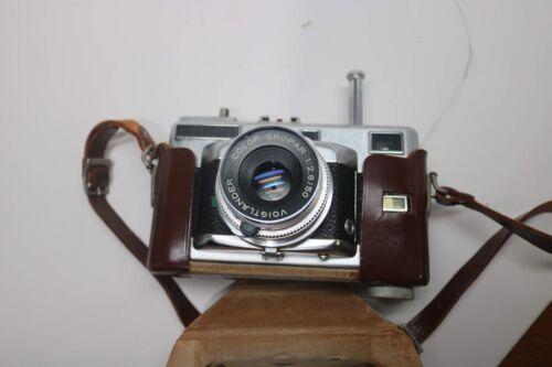 Voigtlander Vitessa T Film Camera with Lens Compur Color Skopar 1:2.8/50 & Case