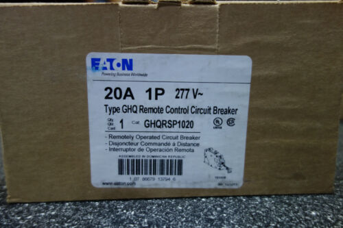 Eaton (Cutler Hammer) GHQRSP1020 Remote Control Circuit Breaker