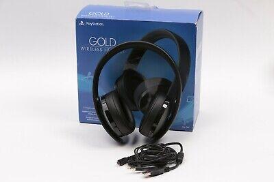 Sony PlayStation Gold Wireless Headset - Black (3004396)