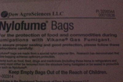 NYLOFUME BAGS ,For Backpacks ,Waterproof, Odor resistant 25 Total New Free Ship