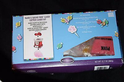 Nostalgia Hard Sugar Free Candy Cotton Candy Kit 12.7 Oz 360 G