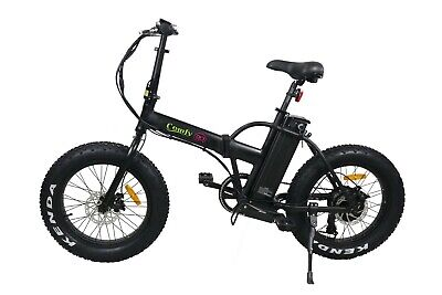 Comfy GO-FOLDING-Electric Bike 500W Motor & Removable 48V 10.4AH Li Battery,
