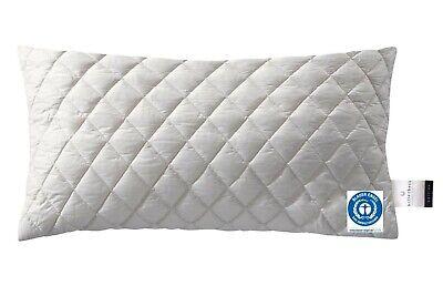 Billerbeck Kopfkissen Lasse E16 Schafschurwolle 40x80 cm 100% Baumwolle