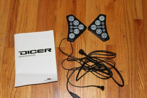 (2) Novation Dicer Cue Point/Loop Controllers