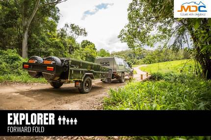 2018 MDC EXPLORER FORWARD FOLD CAMPER Heatherbrae Port Stephens Area Preview