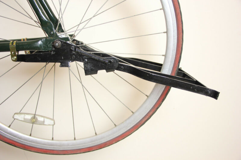 Vintage 28/'/' Bike Bicycle Drop Stand Rear Kickstand Beach Cruiser Iron Black