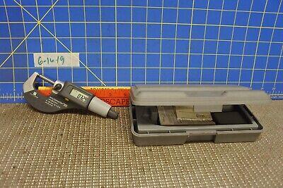 Brown Sharpe Digital Micrometer